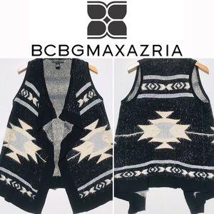 BCBGMAXAZRIA Women's drape vest